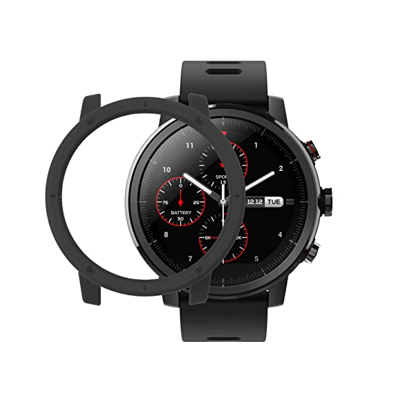 Amazfit Stratos Cover SIKAI Shockproof Anti-Scratch Protective Bumper Case For Huami Amazfit Stratos Smart Watch Lightweight Skin For Amazfit Stratos ...
