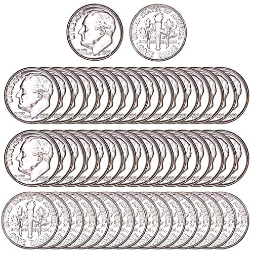 Silver dimes 1959 roll