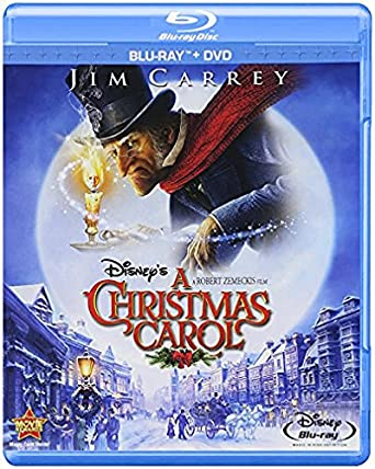 Amazon.com: Disney's A Christmas Carol (Two-Disc Blu-ray/DVD Combo ...