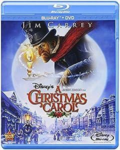Amazon.com: Disney's A Christmas Carol (Two-Disc Blu-ray/DVD Combo): Jim Carrey, Robert Zemeckis ...