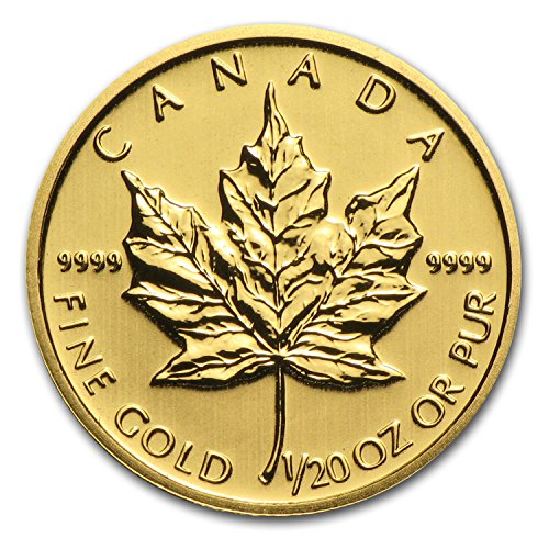 2014 CA Canada 1/20 oz Gold Maple Leaf BU Gold Brilliant Uncirculated