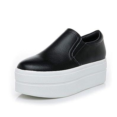 f4d050f2933b3 Amazon.com | NOMIMAS Sneakers Women Wedges Hidden Increasing Spring ...
