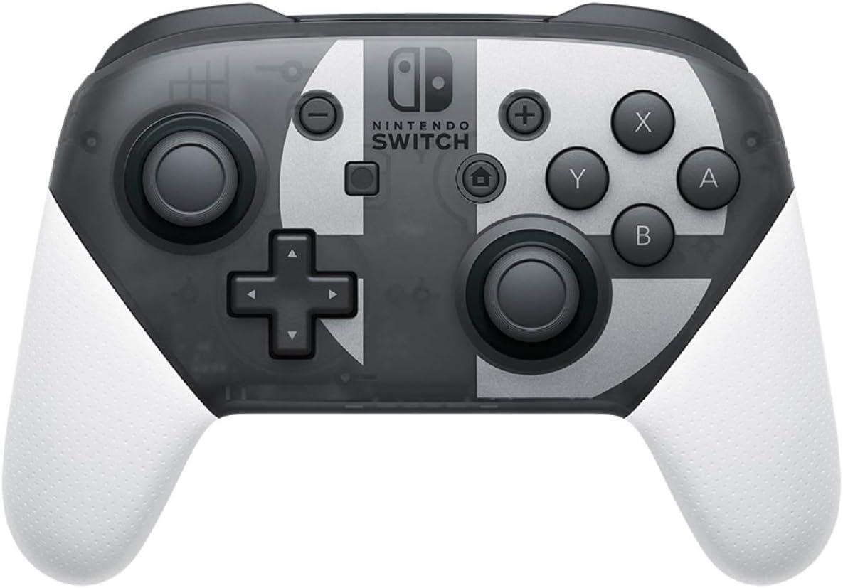 Nintendo Switch Pro Controller Smash Bros series Edition [video game]: Amazon.es: Videojuegos