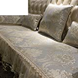 European Style Sofa Pad/Luxurious,Summer,Anti-skidding ,Sofa Mat/Living Room,Simple Modern Sofa Towel-A 65x180cm(26x71inch)