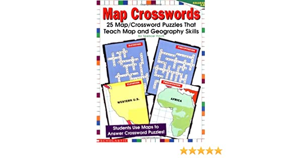 Map Crosswords Grades Spencer Finch S Finch - Us map crosswords scholastic professional books answers