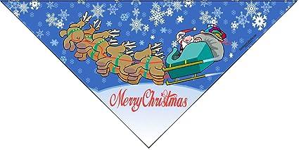 merry christmas dog bandana medium to large dogs holiday dog scarf christmas bandana