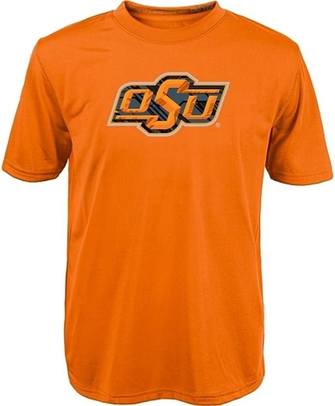 Orange OuterStuff NCAA Infant Oklahoma State Cowboys Fan Jersey Romper
