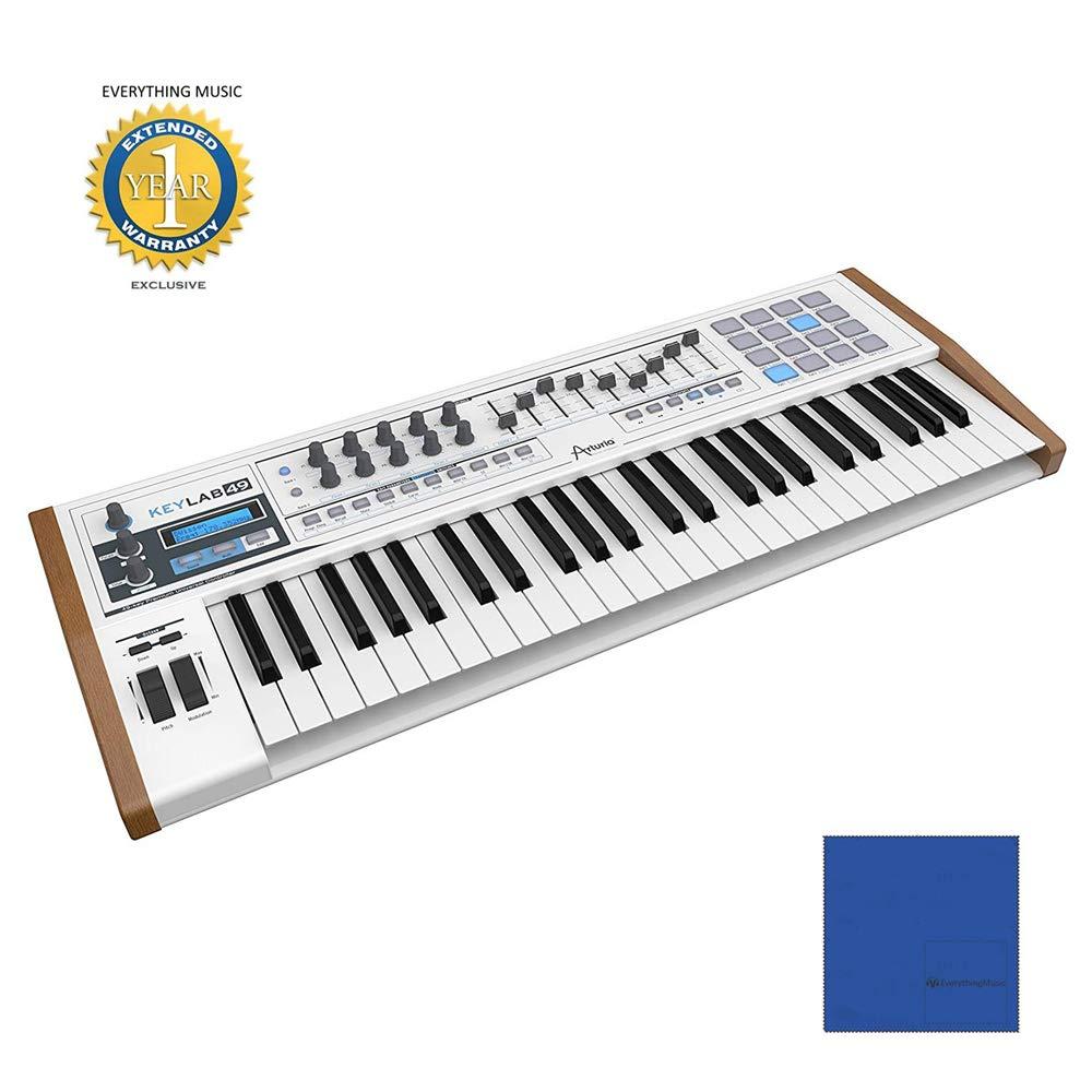 Arturia 230421 KeyLab 49 Hybrid USB/MIDI Keyboard Controller by Arturia