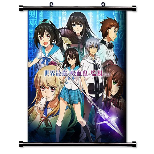 Strike the Blood Anime Fabric Wall Scroll Poster (32x40) Inches