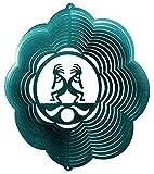KOKOPELLI SOUTHWEST CLOUD Swirly Metal Wind Spinner