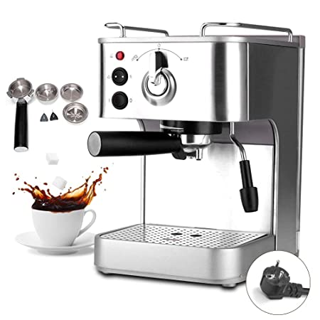 Cafetera eléctrica inteligente con filtro y expreso italiano ...