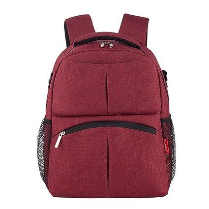 Bebé pañales mochila, zamack cambio mochila bolsa de pañales Mummy bolsas mochila multifunción impermeable mochila