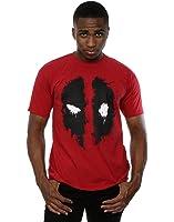 Marvel Deadpool Splat Face, T-Shirt Uomo