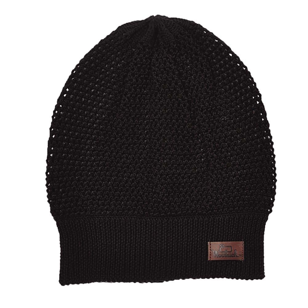Woolrich Unisex Wool Blend Open Knit Slouch Beanie Hat 03f36a231f1