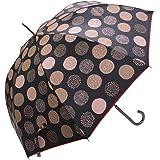 macocca(マコッカ) 遮光率 遮蔽率 100% 超撥水 デザインシリーズ 晴雨兼用傘 ジャンプ傘 58cm 北欧ドット柄