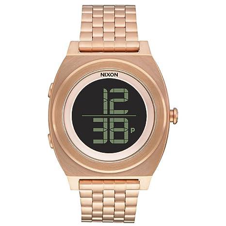 Nixon Unisex Reloj de Pulsera Digital Cuarzo Acero Inoxidable a948897