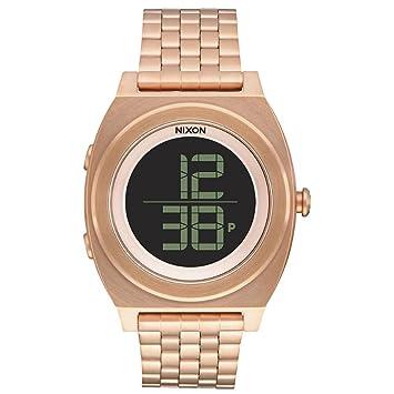 Nixon Unisex Reloj de Pulsera Digital Cuarzo Acero Inoxidable a948897: Amazon.es: Relojes