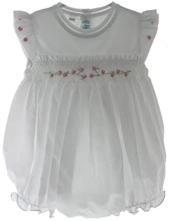 Amazon Com Feltman Brothers Girls Cute Bubble Outfits White Pink
