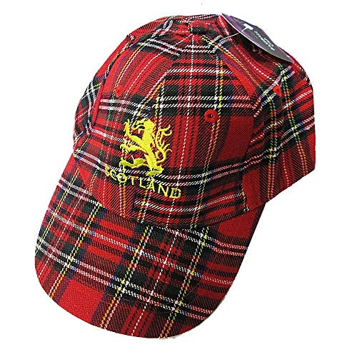 escocés béisbol Gorra de de tartán STEWART ROYAL H0wqRE