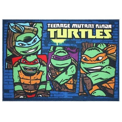 Equipo de las Tortugas Ninja tortugas alfombra - 80,01 cm x ...