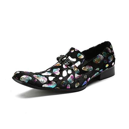 a56612d4f40ce Amazon.com : Men's Lazy Shoes/Peas Shoes/Spring / Fall/Winter Mens ...
