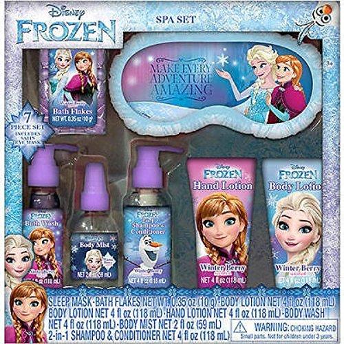 Disney Frozen 7 Piece Spa Gift Set