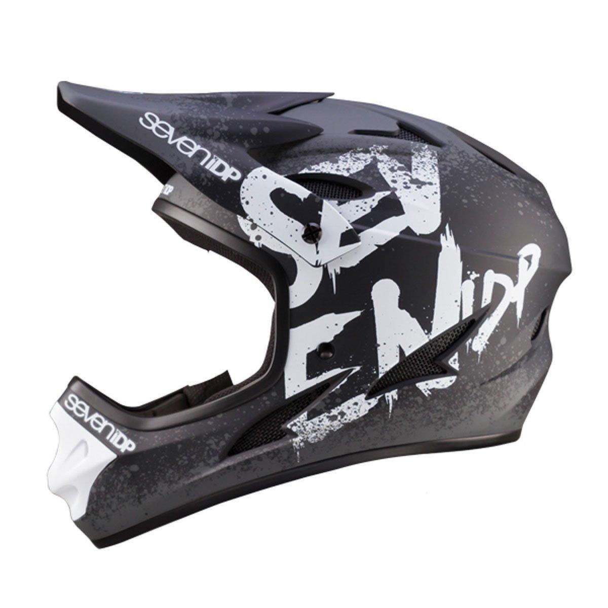 7 Protection M1 Helmet Matte Black//Graphite S 7706-50-520