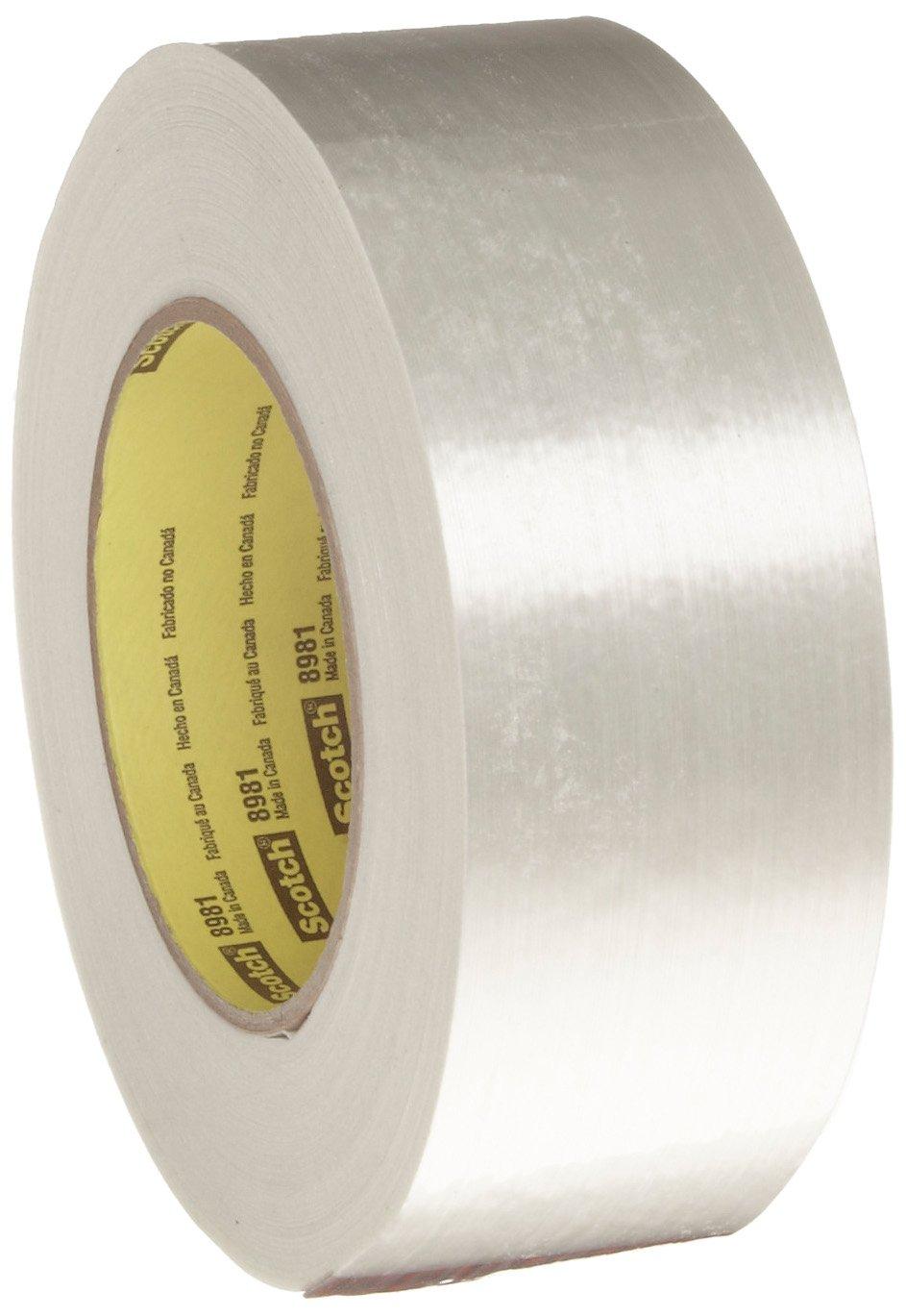 Scotch Filament Tape 8981 Clear, 48 mm x 55 m (Pack of 1)