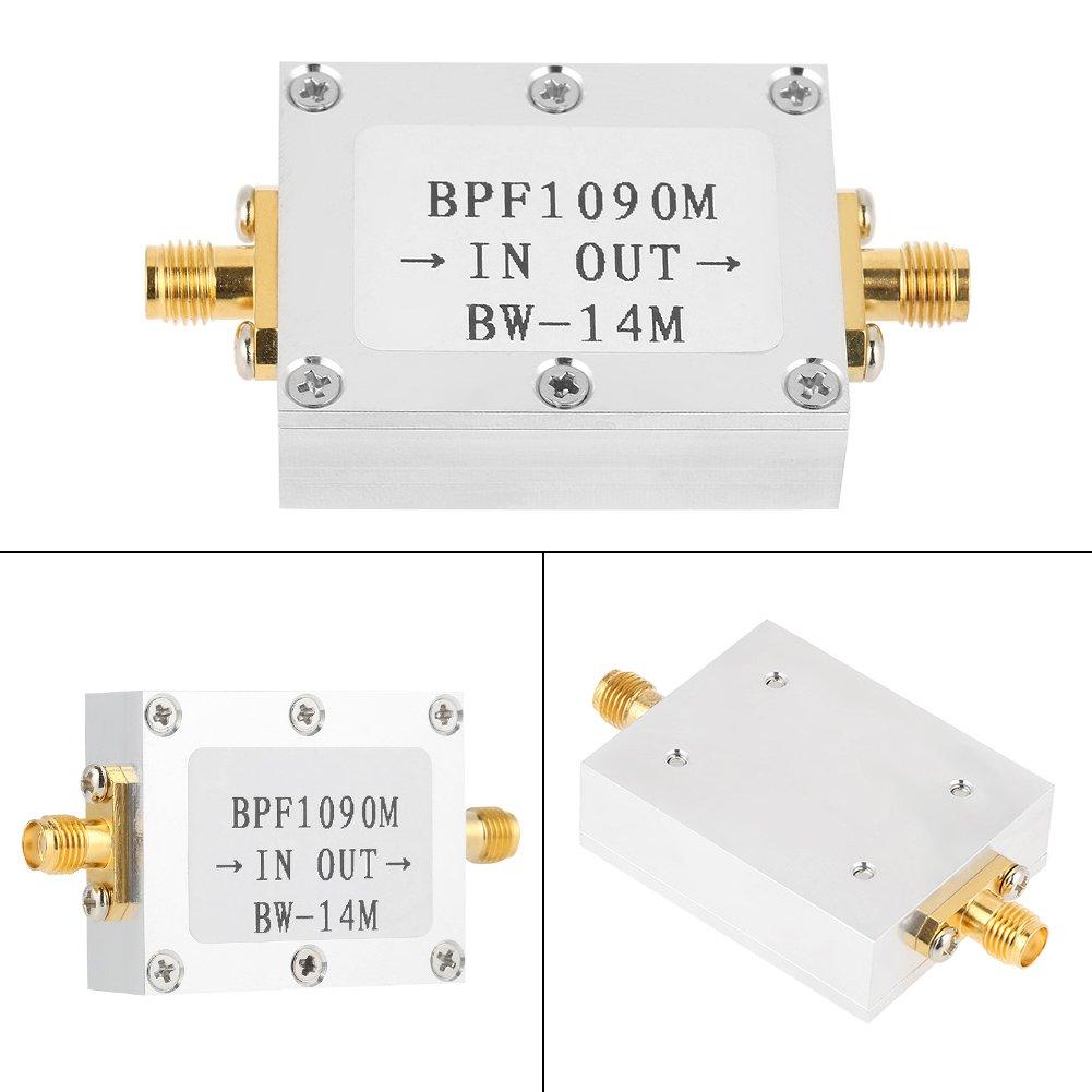 1090MHz Band-pass SMA Filter,1 PCS 1090 MHz ADS-B Aeronautical Bandwidth 14MHz SMA Interface Band-pass Filter