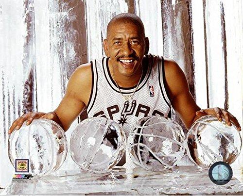 George Gervin San Antonio Spurs NBA Photo (Size: 8