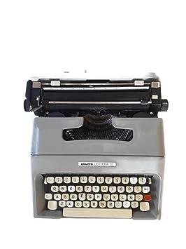 Maquina de escribir Olivetti lettera 35 vintage: Amazon.es: Oficina y papelería