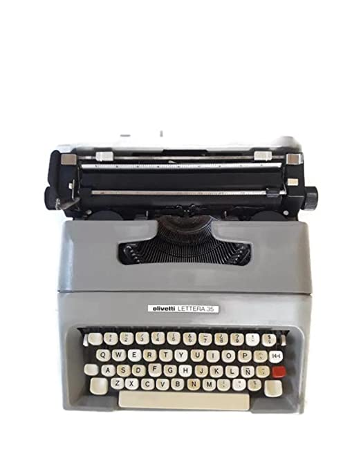 Maquina de escribir Olivetti lettera 35 vintage