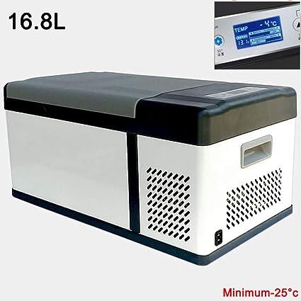 YNWJ Nevera Portatil 12V Compresor 24/220-240V Nevera Electrica para Coche(16.8