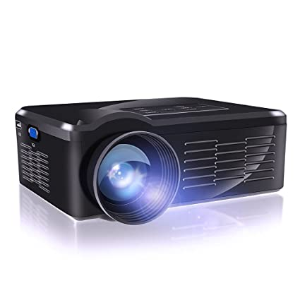 Flylinktech BL-35 Mini proyector de vídeo portátil HD con LED para ...