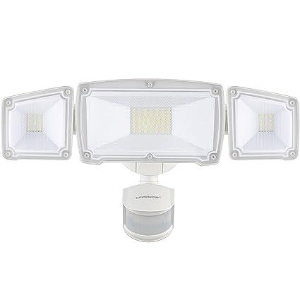 separation shoes 70304 bb5f5 LEPOWER 3500LM LED Security Lights, 39W Super Bright Outdoor Motion Sensor  Light, 6000K, IP65 Waterproof, 3 Adjustable Heads & ETL Certified Motion ...