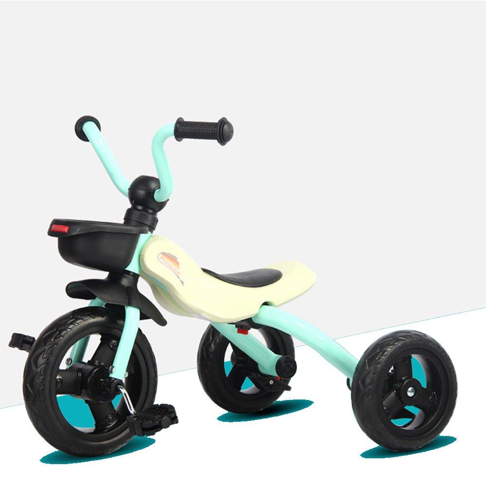HAIZHEN マウンテンバイク 子供の三輪車折りたたみ可能な青、ピンク、オレンジの赤ちゃんバイク美しく、ファッショナブル 新生児 B07C6TR9GX Upgraded Edition|青 青 Upgraded Edition