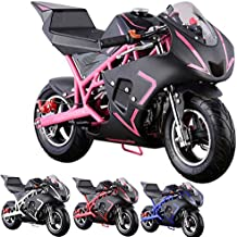 Pocket Bike Mini Motorcycle 4 Stroke Gas Power (PINK)
