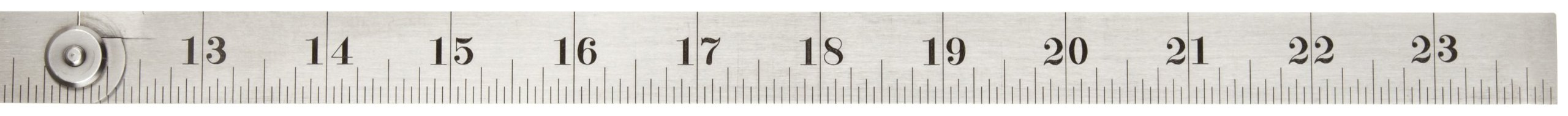 Starrett 471 Steel Folding Rule With Circumference Measurement, 24'' Length, 3/4'' Width, 1/32'' Thickness by Starrett (Image #2)