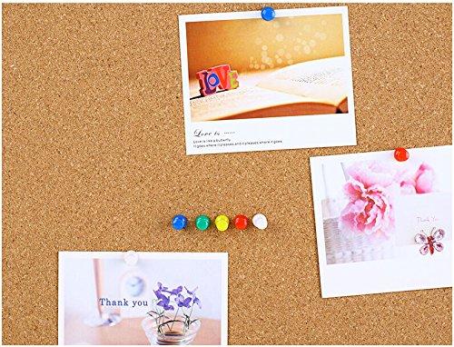 Karten Nadel Push Pins Rei/ßn/ägel f/ür Schaum Kunststoff Karten Korken Tafel Anschlagtafel Korkenbrett JZK/® 180 x Mehrfarbige Pinnwandnadeln Pinnadeln Push Pins mit Schachtel