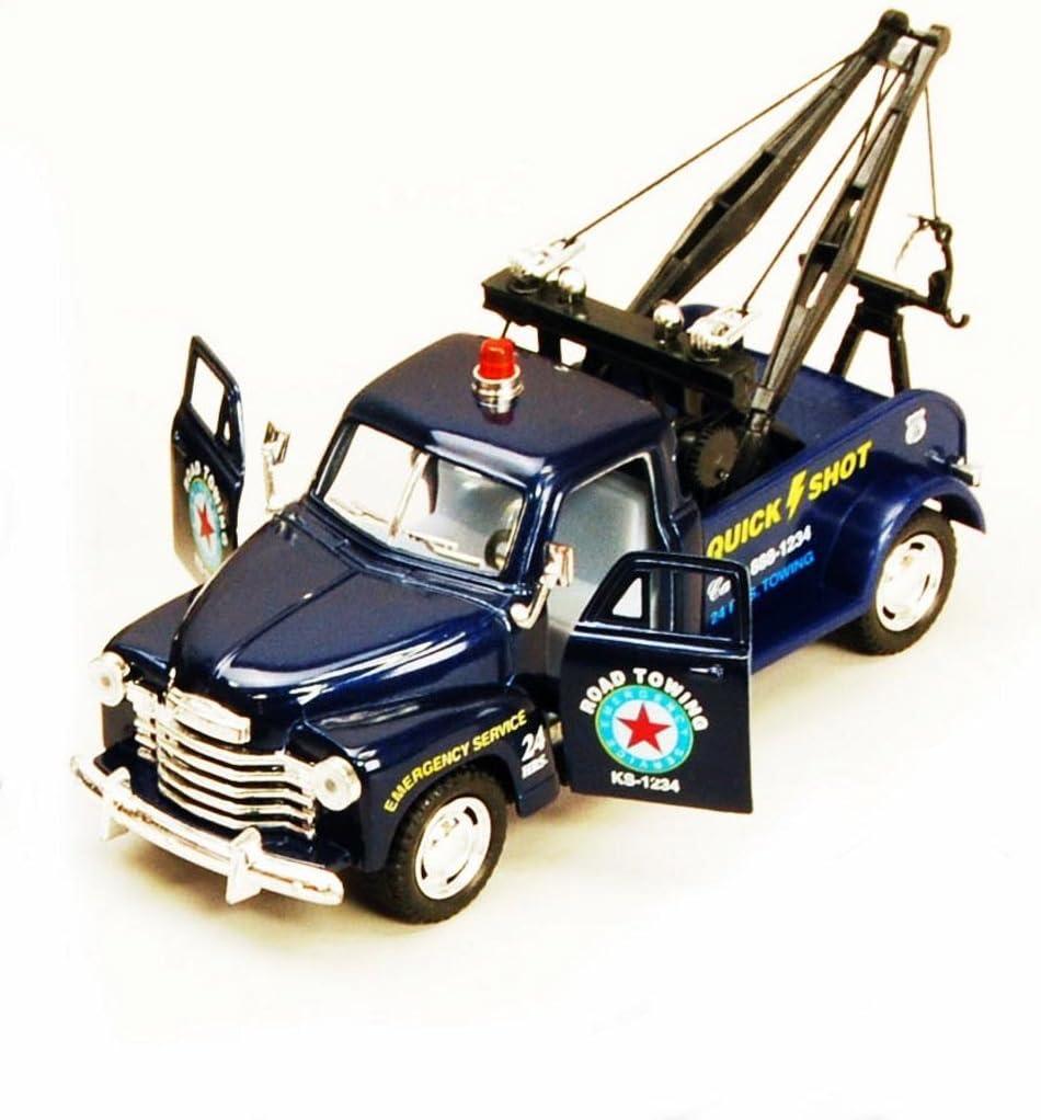 Kinsmart 1953 Chevy 3100 Wrecker Off Road Diecast Model Tow Truck 1:38 Set of 4