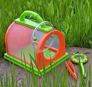 RONSHIN Caja de Almacenamiento Jaula de Insectos Terrario Pinzas ...