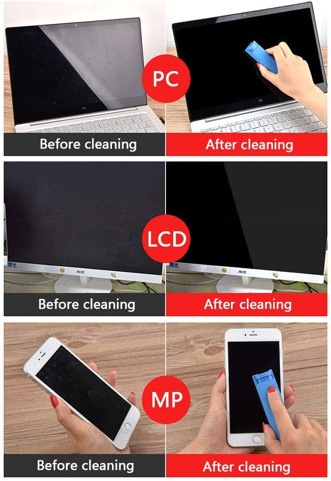 Lime-Screen Cleaner pack of 10 iphone samsung Mobile Smartphone Screen Nite Ize