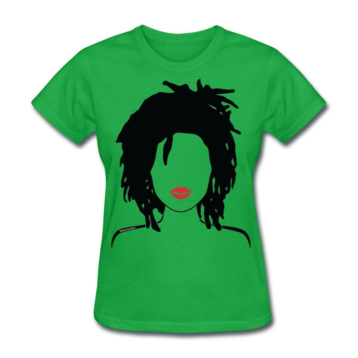 Amazon Spreadshirt Natural Hair Locs Lipstick Womens T Shirt