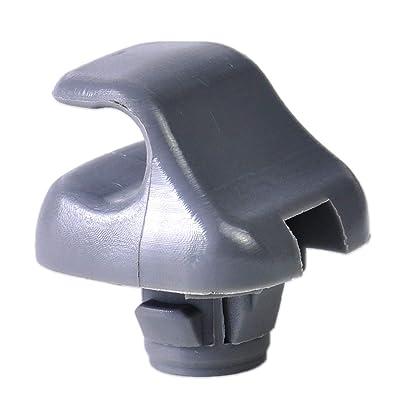 Genuine OEM Honda Gray Sunvisor Clips: Automotive