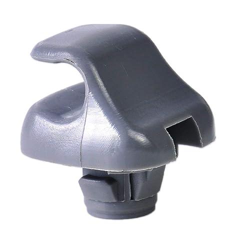 Genuine OEM Honda Gray Sunvisor Clips