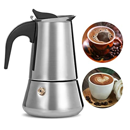 Coffee Makers Italian Top Moka Espresso Cafeteira Expresso Percolator 300 ML Stovetop Coffee Maker Homeleader