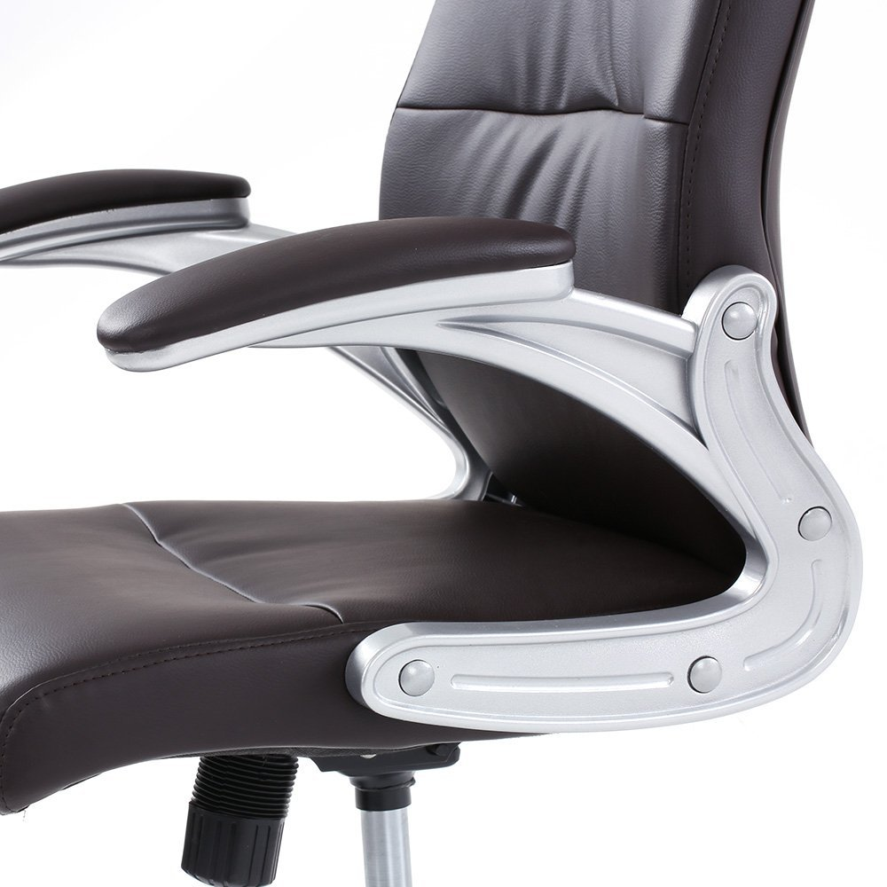 Luxus bürostuhl  IKAYAA Luxus Bürostuhl Chefsessel mit Kopflehne Lift SGS Geprüft ...