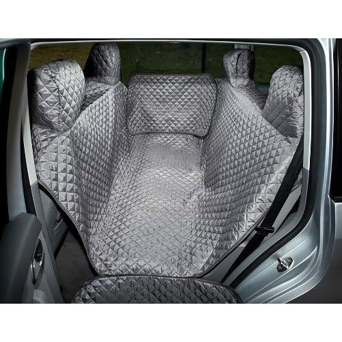 Housse de siège de voiture standard XL grise par HobbyDog