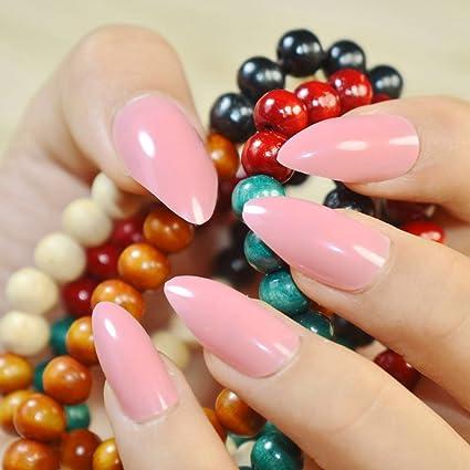 Uñas postizas EchiQ, para manicura de uñas postizas con estilo salón de belleza