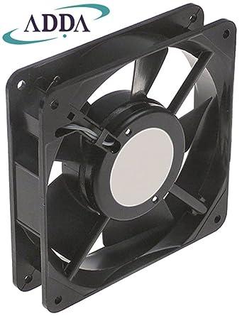 ADDA - Ventilador axial para horno de pizza Cuppone EVOLUTION MECHANICAL, EVOLUTION DIGITAL 19/18W 230V AC 50/60Hz, metal, ancho 119 mm 70°C: Amazon.es: Industria, empresas y ciencia